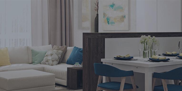 Дизайн 2-х комнатной квартиры